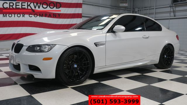 2012 BMW M Models M3 White Sport Black Wheels Tech Nav LowMiles NICE