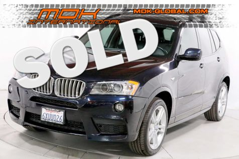 2012 BMW X3 xDrive35i 35i - M Sport - Top view cams - in Los Angeles