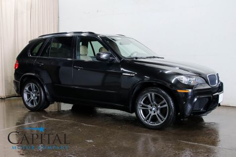 2012 BMW X5 M xDrive AWD Performance SUV with 555hp V8, Navigation, Driver Assist Pkg & 20-Inch Wheels in Eau Claire