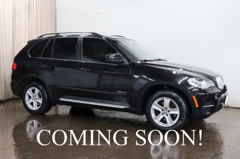 2012 BMW X5 xDrive35d AWD Clean Diesel w/Navi, Backup Cam, Heated F/R Seats, Panoramic Roof & Bluetooth Audio in Eau Claire