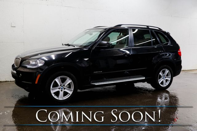 2012 BMW X5 xDrive35d AWD w/Nav, Backup Cam, Heated Steering Wheel and Seats & Panoramic Roof in Eau Claire, Wisconsin 54703