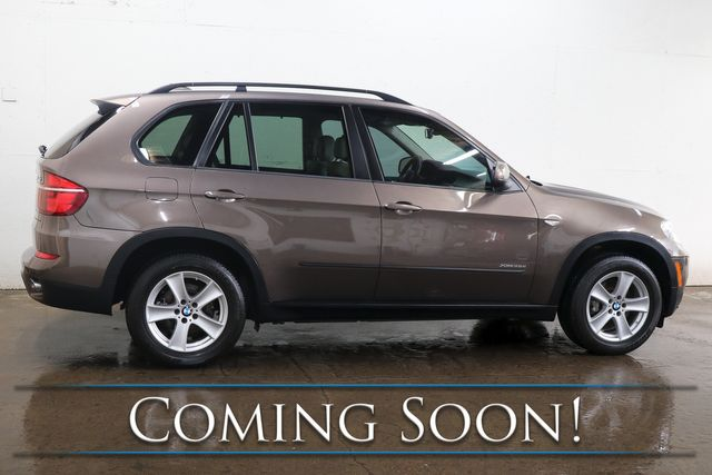 2012 BMW X5 xDrive35D AWD Clean Diesel w/Premium Pkg, Nav, Backup Cam, Panoramic Roof & Bluetooth Audio in Eau Claire, Wisconsin 54703