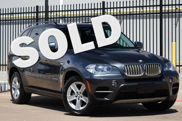 2012 BMW X5 xDrive35d 35d * 1-OWNER * Pano Roof * NAV * Keyless * BU CAM Plano, Texas