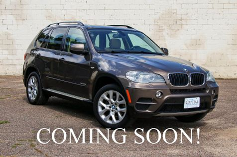 2012 BMW X5 xDrive35i AWD Luxury SUV with 3rd Row Seats, Navigation, Cold Weather Pkg & Panoramic Moonroof in Eau Claire