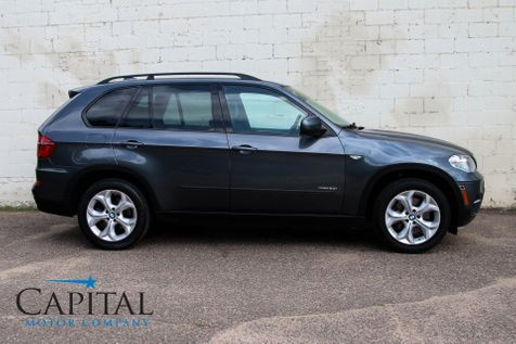 2012 BMW X5 xDrive50i AWD V8 Luxury SUV w/Sport Pkg, Navigation, Head-Up Display, Backup Cam & Tow Pkg in Eau Claire