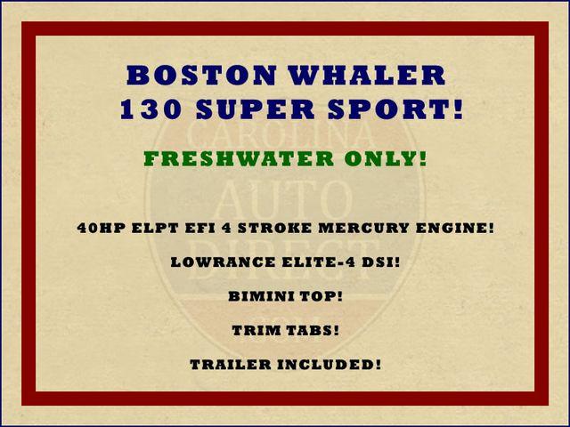 2012 Boston Whaler 130 Super Sport Mooresville , NC 1