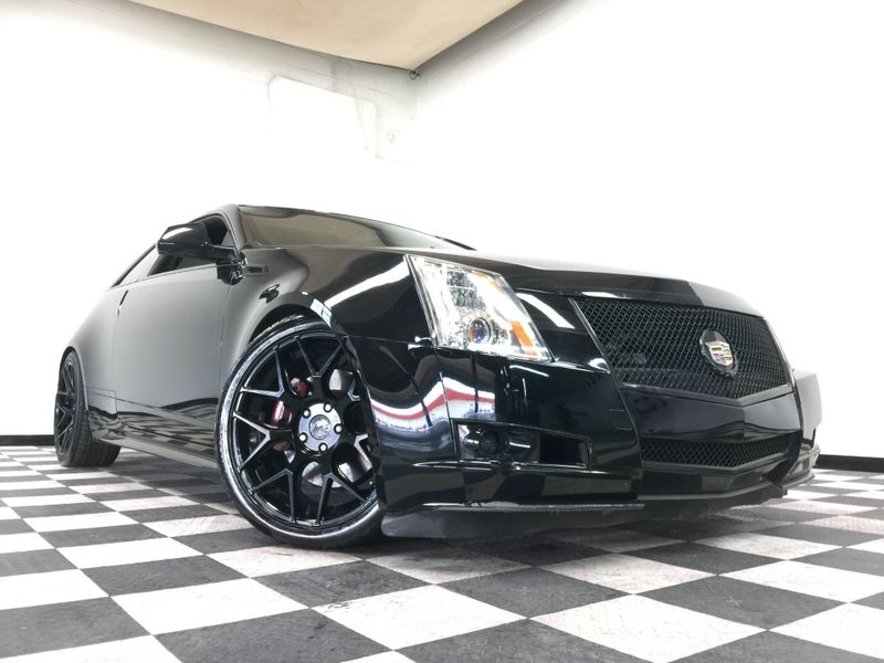 2012 Cadillac CTS Coupe *Premium w/ Navi*Custom Black Rims*   The Auto Cave