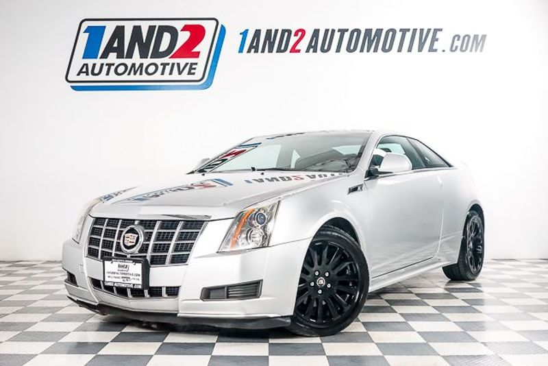 2012 Cadillac CTS Coupe Base Coupe AWD in Dallas TX