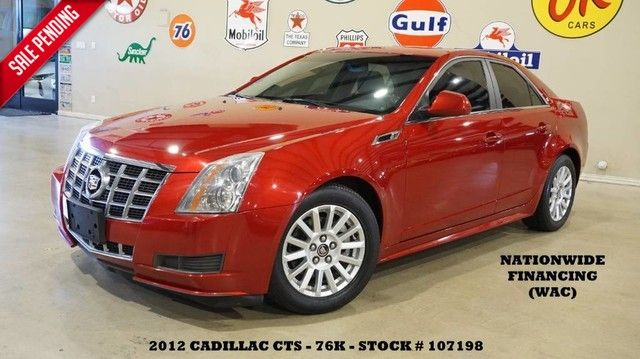 2012 Cadillac CTS Sedan AUTOMATIC,ULTRA ROOF,LEATHER,BOSE,17IN WHLS,76K!