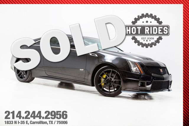 2012 Cadillac CTS-V Coupe 6-Speed With Many Upgrades in TX, 75006