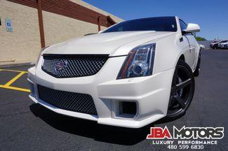 2012 Cadillac CTS-V CTSV Coupe CTS V Pearl White    MESA, AZ   JBA MOTORS in Mesa AZ
