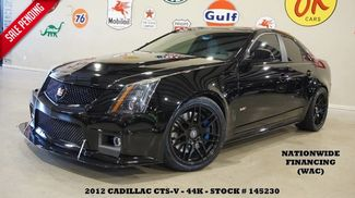 2012 Cadillac CTS-V Sedan MOTOR MODS,ULTRA ROOF,NAV,RECARO,FORGESTAR WHLS... in Carrollton TX, 75006