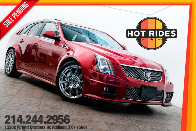 2012 Cadillac CTS-V Wagon in Crystal Red