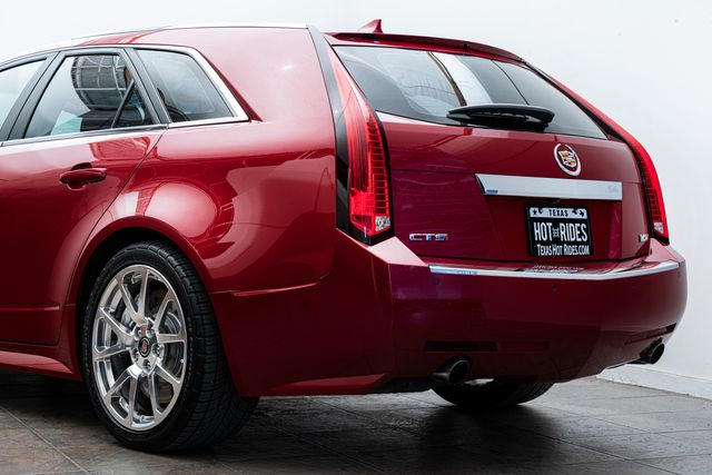 2012 Cadillac CTS-V Wagon in Crystal Red in Addison, TX 75001
