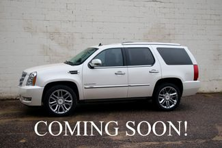 2012 Cadillac Escalade Platinum AWD Luxury SUV w/3rd Row Seats, in Eau Claire, Wisconsin