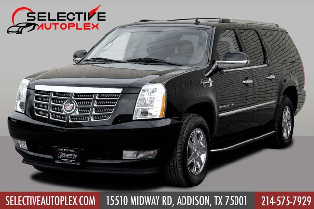 "2012 Cadillac Escalade ESV ""TV/DVD"" ""Navigation"""