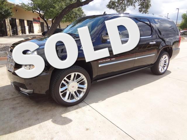 2012 Cadillac Escalade ESV Platinum Edition Austin , Texas 0