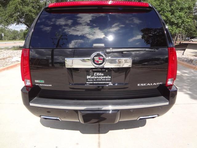 2012 Cadillac Escalade ESV Platinum Edition Austin , Texas 3