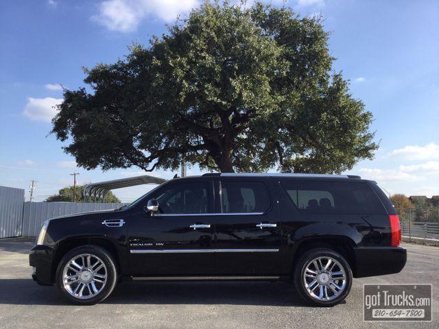 2012 Cadillac Escalade ESV Platinum Edition 6.2L V8 4X4