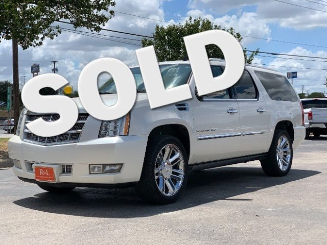 2012 Cadillac Escalade ESV Platinum Edition in San Antonio, TX 78233