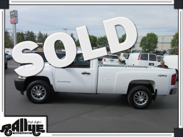 2012 Chevrolet 1500 Silverado WT 4WD in Burlington WA, 98233