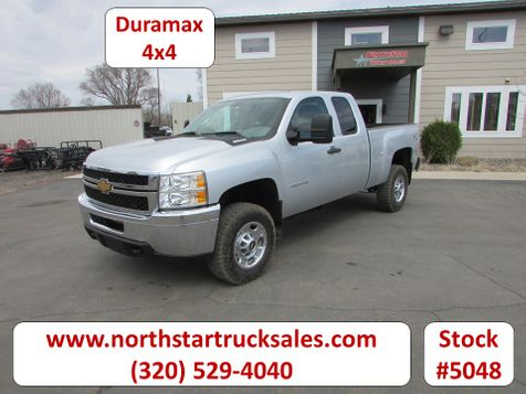 2012 Chevrolet 2500HD 4x4 Ext-Cab Short Box Pickup  in St Cloud, MN