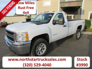 2012 Chevrolet 3500HD 4x4 Reg-Cab Pickup in St Cloud, MN