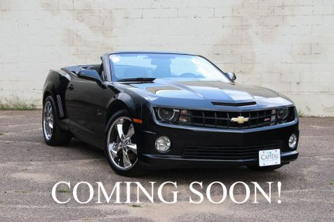 2012 Chevrolet Camaro 2SS Convertible w/426HP V8, Backup Cam, Hurst Shifter & 20-Inch Foose Rims in Eau Claire
