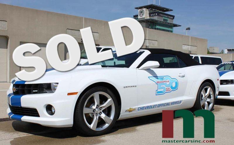 2012 Chevrolet Camaro 2SS Indy 500 Festival Car #21 | Granite City, Illinois | MasterCars Company Inc. in Granite City Illinois
