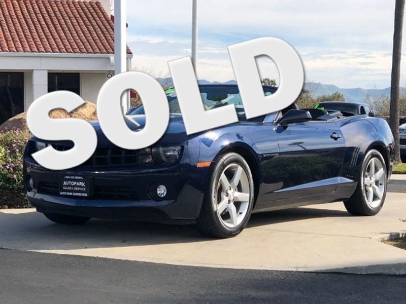 2012 Chevrolet Camaro 2LT | San Luis Obispo, CA | Auto Park Sales & Service in San Luis Obispo CA