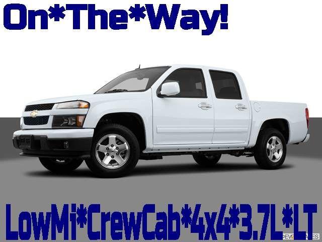 2012 Chevrolet Colorado 4x4 1LT