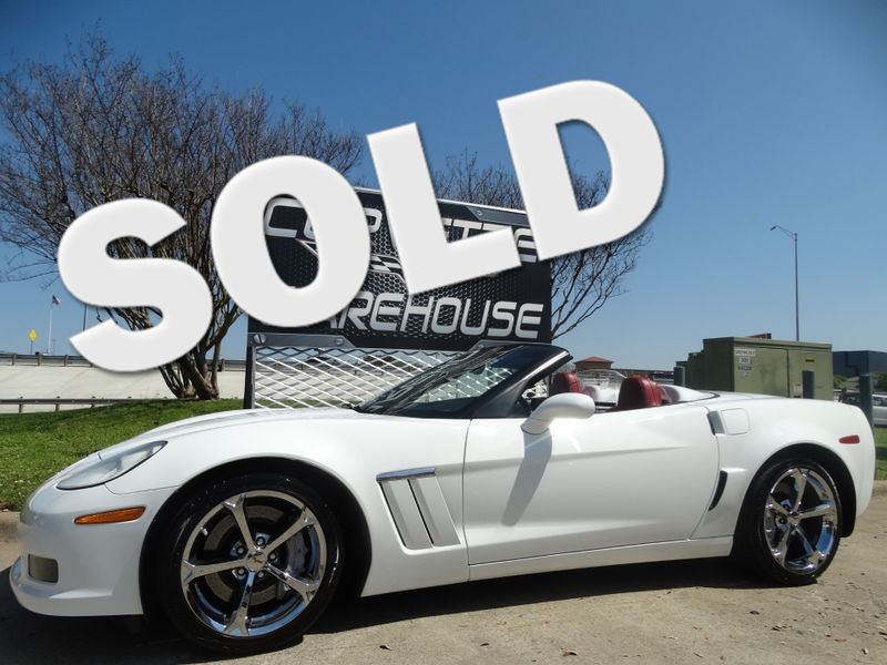 2012 Chevrolet Corvette Z16 Grand Sport 3LT, Auto, NAV, NPP, Chromes! | Dallas, Texas | Corvette Warehouse