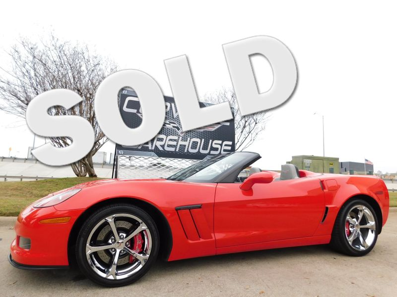 2012 Chevrolet Corvette Z16 Grand Sport Convertible 3LT, NAV, NPP, 17k! | Dallas, Texas | Corvette Warehouse