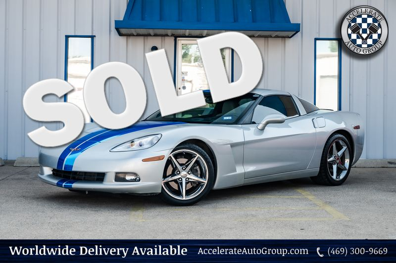 2012 Chevrolet Corvette 6.2L V8 W/3LT, 6-SPD AUTO, COUPE, CLN CARFAX, NICE in Rowlett Texas