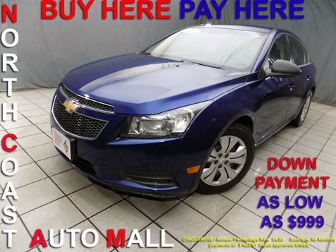 2012 Chevrolet Cruze LS As low as $999 DOWN in Cleveland, Ohio