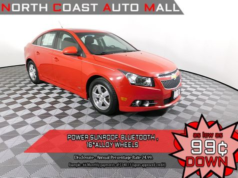 2012 Chevrolet Cruze LT w/1LT in Cleveland, Ohio