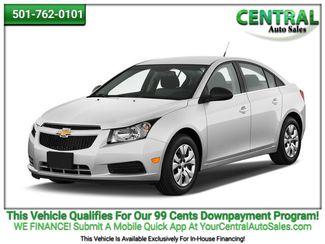 2012 Chevrolet Cruze LT w/1FL | Hot Springs, AR | Central Auto Sales in Hot Springs AR