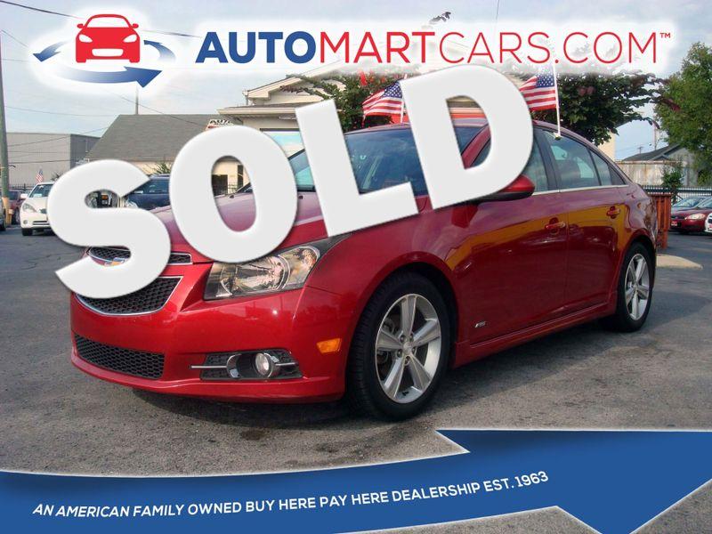 2012 Chevrolet Cruze LT w/2LT | Nashville, Tennessee | Auto Mart Used Cars Inc. in Nashville Tennessee