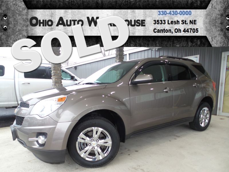 2012 Chevrolet Equinox LT Up To 32MPG Clean Carfax We Finance | Canton, Ohio | Ohio Auto Warehouse LLC in Canton Ohio