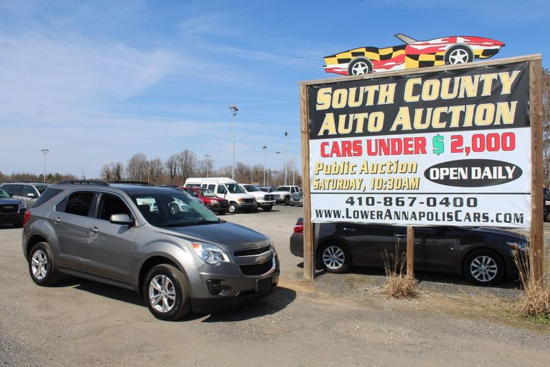 2012 Chevrolet Equinox LT w1LT  city MD  South County Public Auto Auction  in Harwood, MD