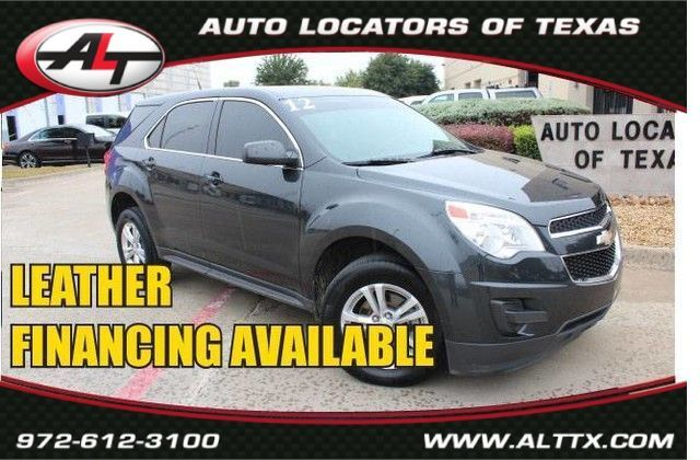 2012 Chevrolet Equinox LS with LEATHER