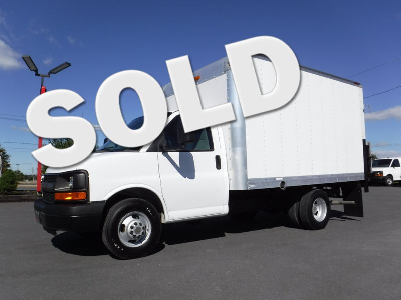 2012 Chevrolet Express 3500 12FT Box Truck with Lift Gate in Ephrata PA
