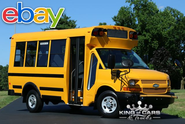2012 Chevrolet Express 3500 MICRO BIRD MINI SCHOOL BUS 12K MILES MINT