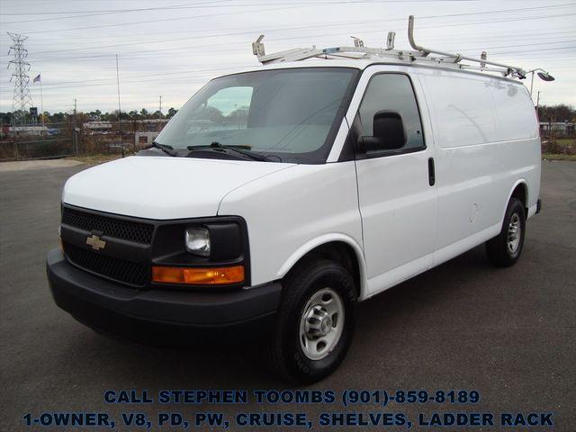 2012 Chevrolet Express Cargo Van 2500 1-OWNER, V8, PD, PW, CRUISE, SHELVES, LADDER RACK in Memphis Tennessee, 38115