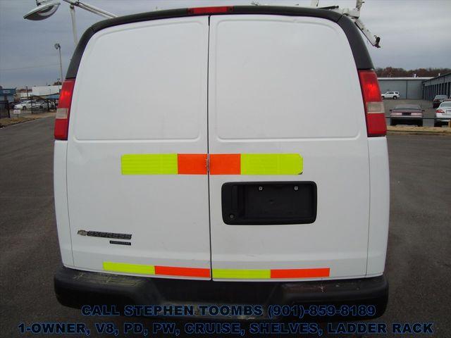 2012 Chevrolet Express Cargo Van 2500 1-OWNER, V8, PD, PW, CRUISE, SHELVES, LADDER RACK in Memphis, Tennessee 38115