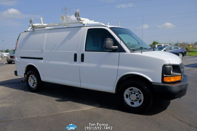 2012 Chevrolet Express Cargo Van 2500 1-OWNER, V8, PD, PW, CRUISE, SHELVES, LADDER RACK