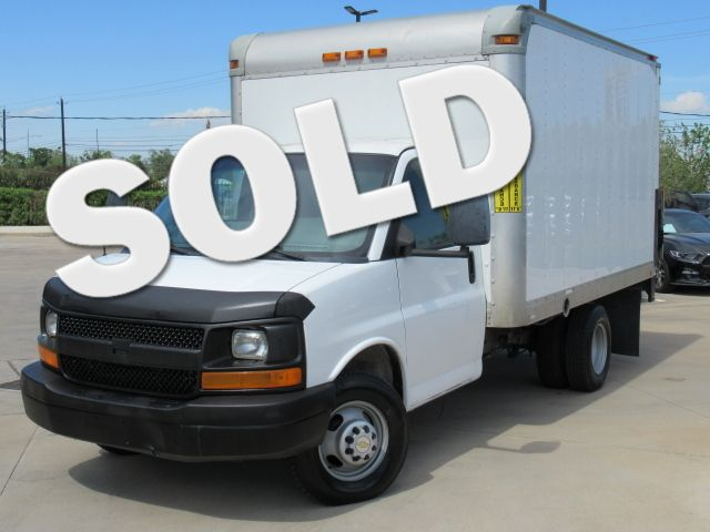 2012 Chevrolet Express 3500 Cutaway Box Truck | Houston, TX | American Auto Centers in Houston TX
