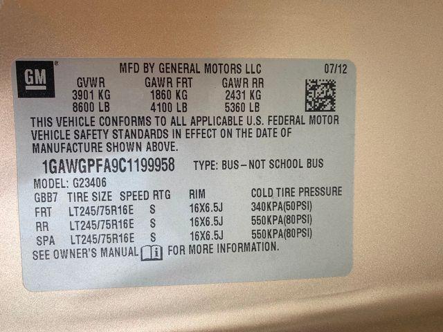 2012 Chevrolet Express Passenger 1LS Hoosick Falls, New York 7