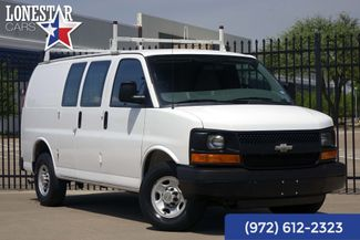 2012 Chevrolet G2500 Cargo Van 1 Owner Clean Carfax Express 35 Service Records in Plano Texas, 75093