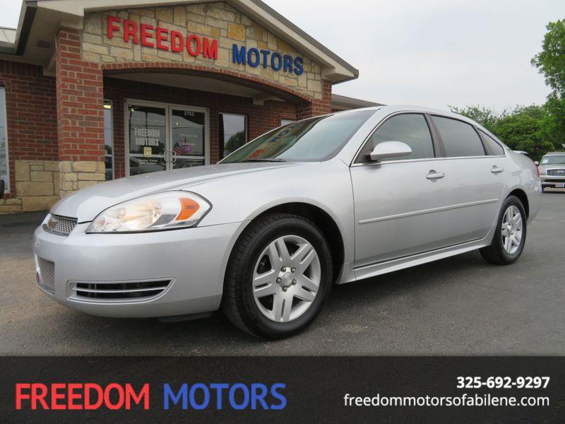 2012 Chevrolet Impala LT  | Abilene, Texas | Freedom Motors  in Abilene Texas